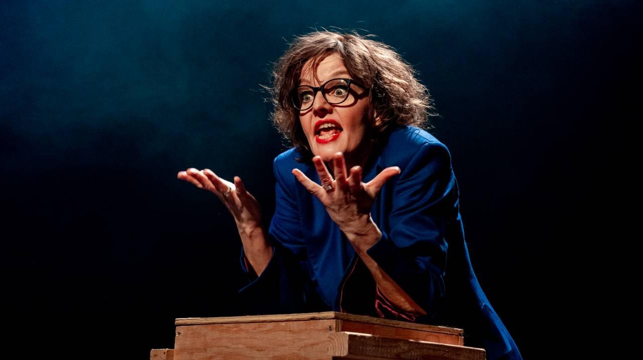 Sanne Wallis de Vries in Kom. expressief